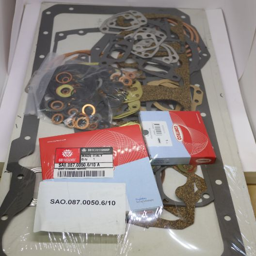 Complete Engine Gasket Set  (Part Number: 0.087.0050.6/10) - Call South Burnett Tractor Parts on 07 4164 2000