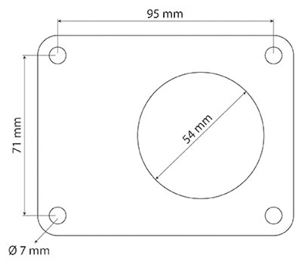 Gasket  (Part Number: 5167989) - Call South Burnett Tractor Parts on 07 4164 2000
