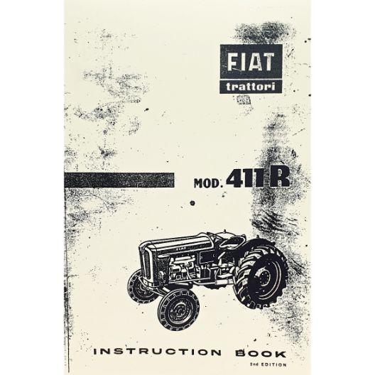 MANUAL OPERATORS FIAT 411R