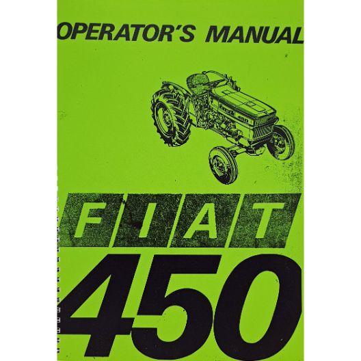 MANUAL OPERATORS FIAT 450