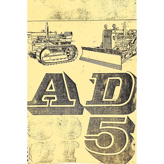 MANUAL OPERATORS FIAT 50CI - AD5 (Part Number: MANOPEFIATAD5) - Call South Burnett Tractor Parts on 07 4164 2000