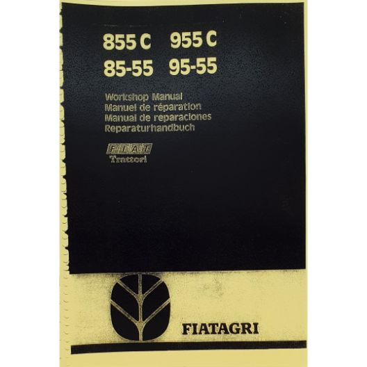MANUAL WORKSHOP 855C/955C (Part Number: MANWSFIAT955) - Call South Burnett Tractor Parts on 07 4164 2000
